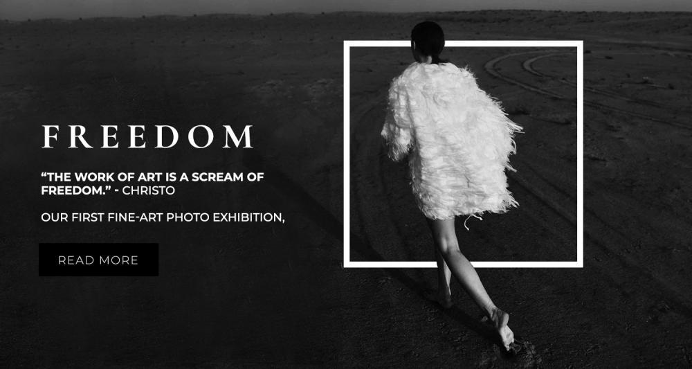 Freedom - exhibition