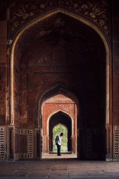 Print art: Contemplation in India