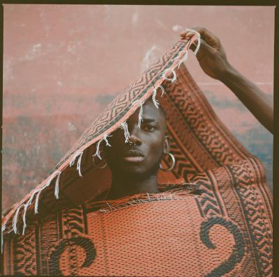 Print art: Ghana art collaboration - rug