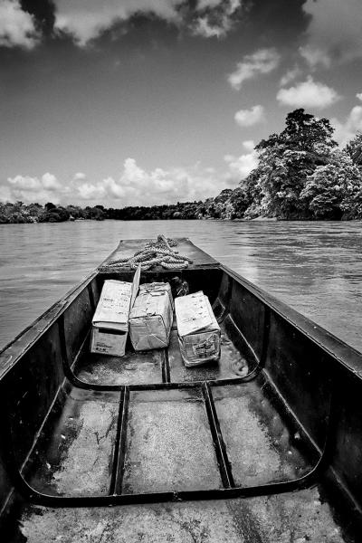 Print art: Atrato river