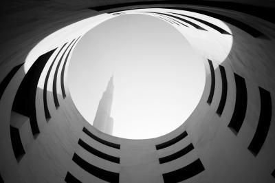Print art: Up, Dubai