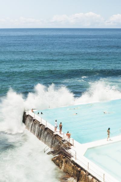 Print art: Icebergs Pool at Bondi